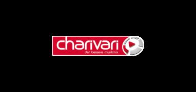 Charivari Logo mit Claim